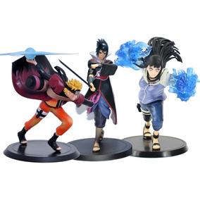 Naruto 3pçs Action Figure