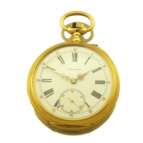 c450c77e55a Relógio De Bolso Longines Excepcional - Relógios De Bolso no Mercado ...