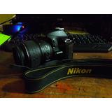 Nikon D3200 Camara Profesional + Lente 18-55 Mm Impecable