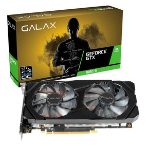 Placa De Vídeo Galax Geforce Gtx 1660ti 1click Oc 6gb Gddr6