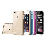Capa Metal Aluminio iPhone 6 6s Capinha Case +pelicula Vidro