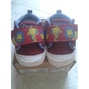 Zapatos Oshkosh Talla 19 Vinotinto