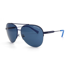 Lentes Armani Exchange 2020s 609580 Matte Blue Original Msi