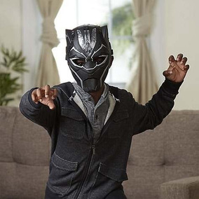 Máscara De Poder Vibranium Black Panther Marvel