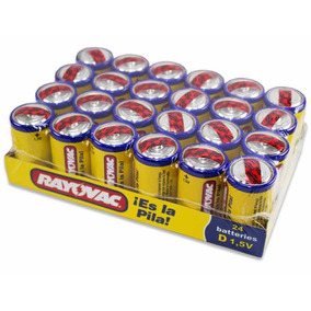 Pila Bateria Tipo D Rayovac Grande