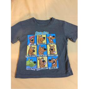 Playera Original Scooby Doo! Para Niño Talla 2 (años )