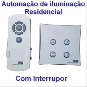 Interruptor Controle Remoto Luz Automático Casa Inteligente