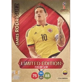 Card James Rodríguez Limited Edition Premium - Russia 2018