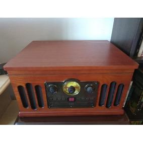 Toca-discos Ctx Classic Com Toca-fitas, Cd Player E Rádio Am