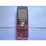 Celular Samsung Sgh-j700i Rosa