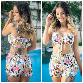 Conjunto Cropped Short - Vestidos Outros Comprimentos no Mercado ... 3793fe83cf4b4