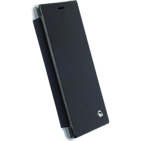 Funda Para Celular Sony Xperia M2, Flipcover Negro