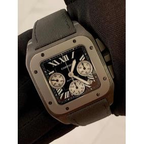 a5acfdc043e Relogio Cartier Santos 100 Extra - Relógios De Pulso no Mercado ...