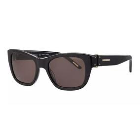 118eda7acba57 Óculos De Sol Nina Ricci   3253 01 Acetato Preto Lente Cinza