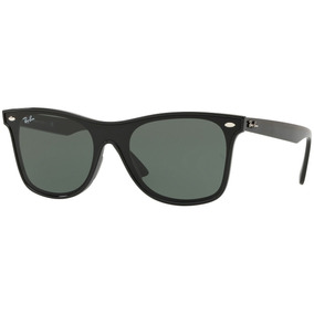 3f1df552b2f63 Óculos Sol Ray-ban Rb4440 Wayfarer Blaze Original Todo Preto. R  192