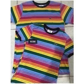 1e2aa927f7bda Camisa Lacostes Arco Iris Casal - Calçados, Roupas e Bolsas no ...