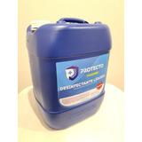 Sanitizante Liquid 20lts Protecto Certificado Cofepris Y Fda