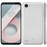 Celular Lg Q6 Branco Duos Android7.0 5.5 Full Hd 32gb 4g