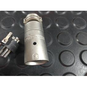 Conector Amphenol Ep412 Macho 4 Polos.