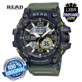 Relogio S Shock Militar Prova Dagua Original Read Lxbr R22