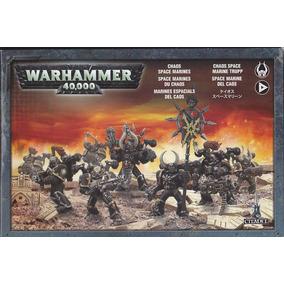 Warhammer 40k Marines Espaciales Del Caos