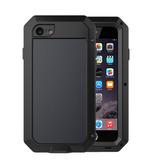 Capa Anti Impacto iPhone 5 6 6s 7 8 Tela Vidro Resistente