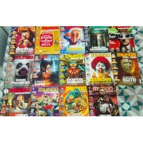 Lote De Revistas Mundo Estranho (2013/2014) - 14 Unidades