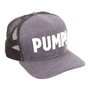 Boné Pump! - Trucker - Cinza Escuro Iridium Labs f33498c15c2