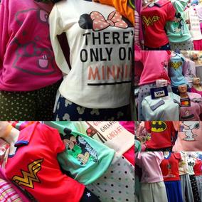 Pijamas Para Niños Y Adultos