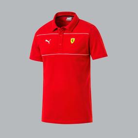 Playera Scuderia Ferrari Polo Hombre Rojo 822502 Inpri19 J f686b8b80801f