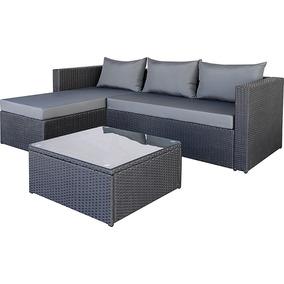 Sofa Sillon Chaise Exterior Esquinero Patio Jardin Divino