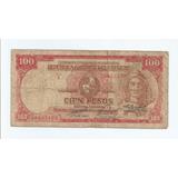 Antiguo Billete 100 Pesos Ley 2 De Enero De 1939