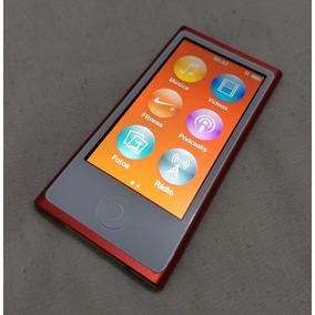 Ipod Nano 16gb 7 Geração Red Vermelho Usado Parcelad - Uf4lp