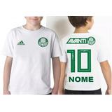 Camiseta Do Palmeiras Infantil Personalizada no Mercado Livre Brasil 7c02ed0afcd24