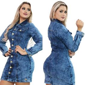 Vestido Jeans Panicat Blogueira Moda Instagram Verão Top!!!!