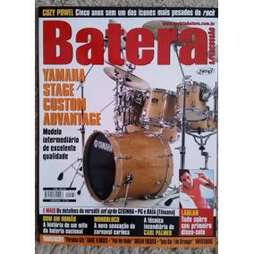 Revista Batera Nº 68 Yamaha Stage Custom