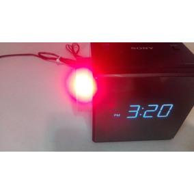 Sony Radio Reloj Despertador Proyector Icf C1pj
