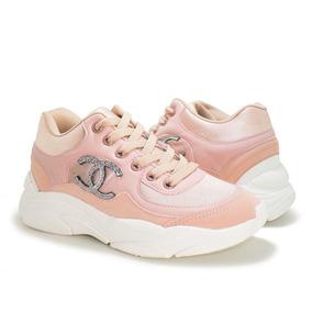 8d0a500fd22 Tenis Chanel Tamanho 34 - Tênis Casuais para Feminino 34 Rosa no ...