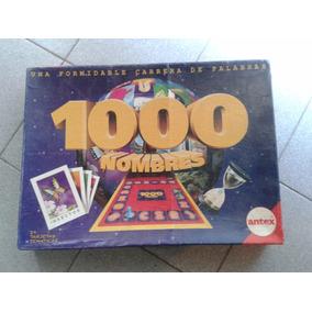 1000 Mil Nombres Juego De Mesa Antex Para Jugar En Familia Juegos