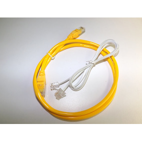 Cable De Red Utp Rj45 Rj11 Modem Router Telefono Combo