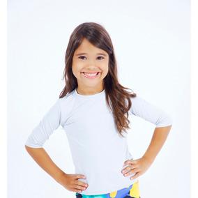 Blusa Segunda Pele 3 4 - Camisetas e Blusas no Mercado Livre Brasil ac82e0801ddab
