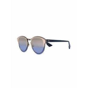 9dbd71b251d2e Oculos Sol Azul Bicolor Anos De Dior - Óculos no Mercado Livre Brasil