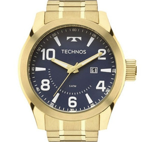5bd30cb171b74 Relogio Technos Masculino Fundo Azul - Relógio Technos Masculino no ...
