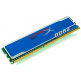 Memoria Ram Ddr 3, Kingston, Hyper Blue, 2 Gb, Envio Gratis