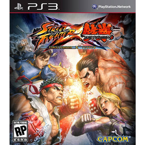 Street Fighter X Tekken Ps3 Mídia Digital Psn Promoção