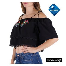 Blusa Ombliguera Twenty One Calidad Premium