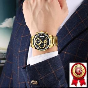 Relógio Masculino Nibosi Original 100%funcional 12xsem Juros