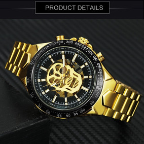 70e90d8f5cf9 Reloj Winner Dorado - Joyas y Relojes en Mercado Libre México