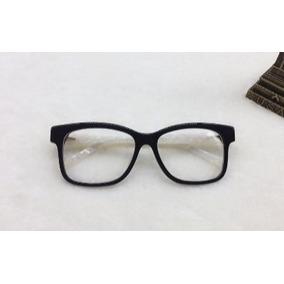 Armação Óculos Gatinho Branco Perolado Retro Fem Grau Pin Up ... ffd1628fbc