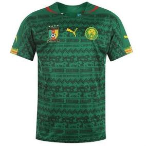 Jersey Puma Camerun Niño Mundial Brasil 2014 Camisa Local